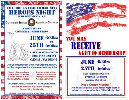 CMAC Heroes Night Invite - Split Page