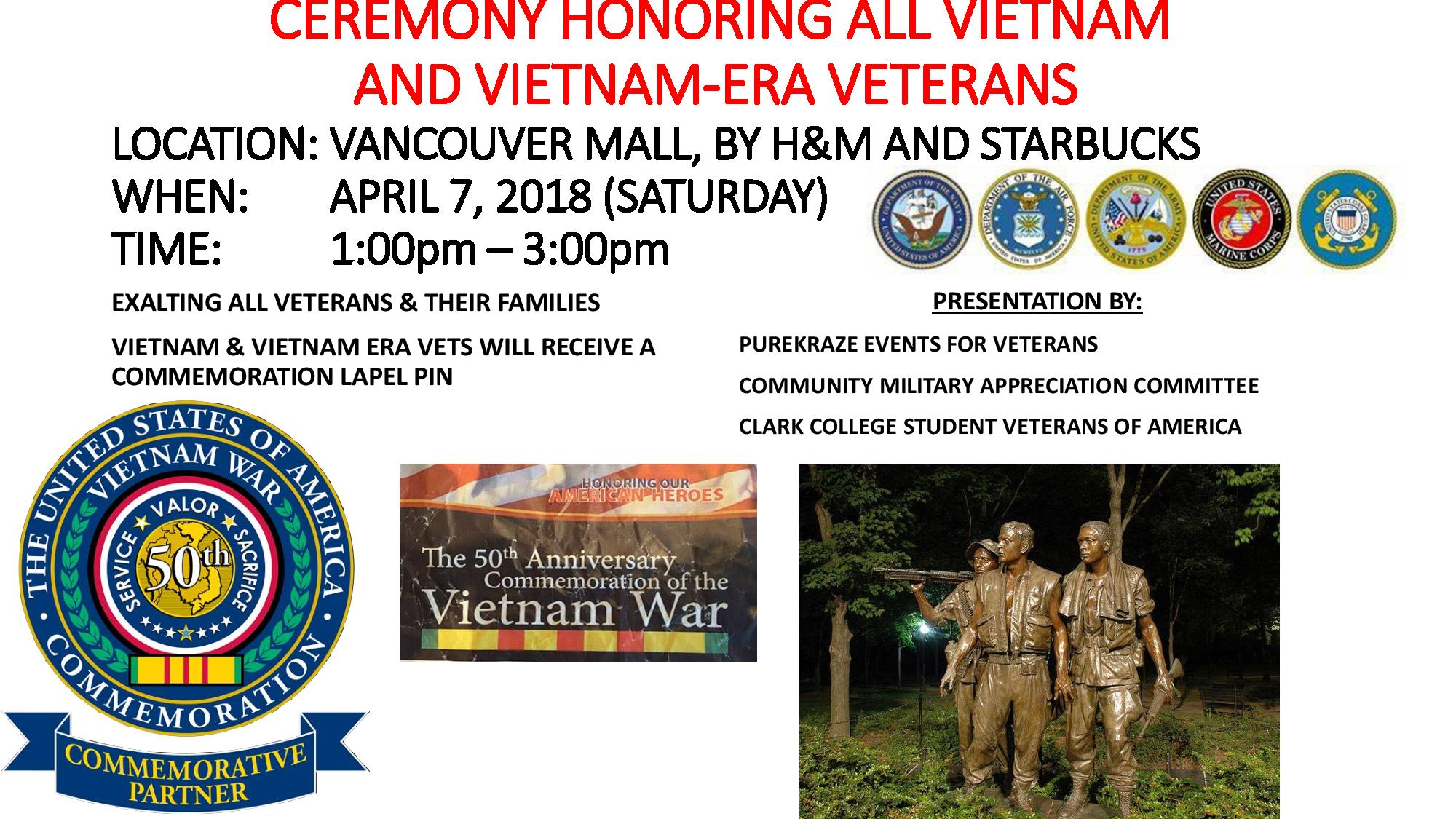 The 50th Anniversary of the Vietnam War Commemoration
